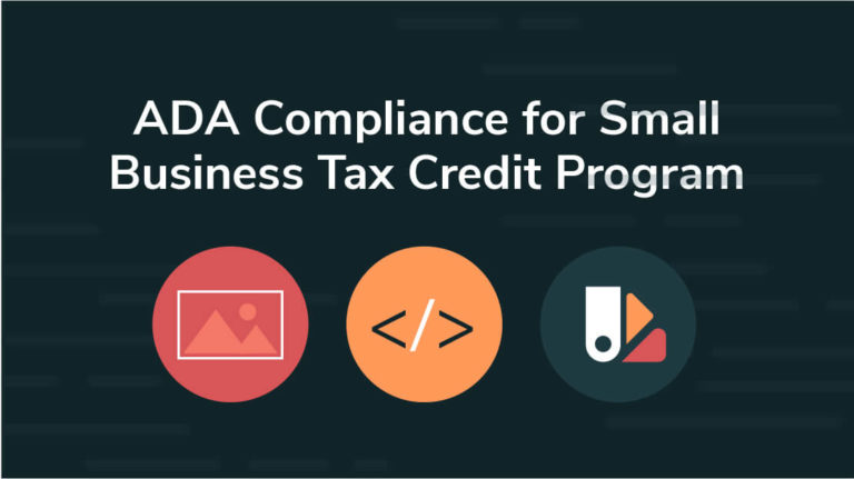 16 - ADA Compliance for Small Business Tax Credit Program